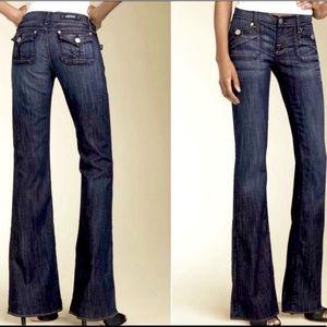 Rock & Republic Scorpion low rise flare jeans